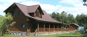 Beaver Log Homes in Kalkaska, Michigan